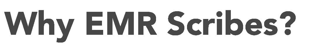 EMR Scribes Sevices | EMR Scribes